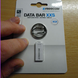 The Freecom Databar XXS