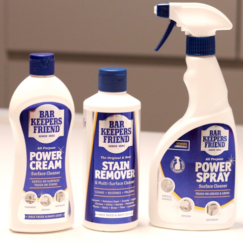 competition to win a year s supply of bar keepers friend the thumbs up. Black Bedroom Furniture Sets. Home Design Ideas