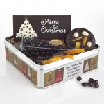 Dark Chocolate Merry Christmas Gift Set - Sent With A Loving Kiss